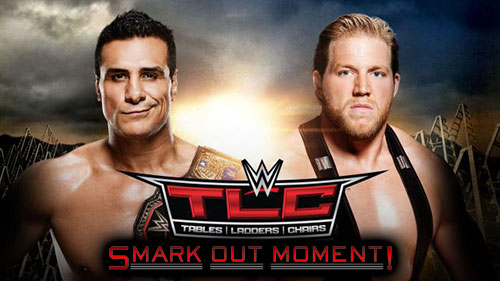 WWE TLC 2015 Chairs Match Jack Swagger vs Alberto Del Rio