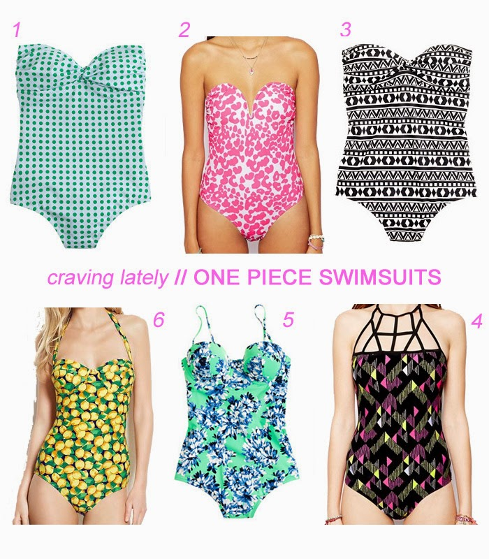 cute one piece swimsuits