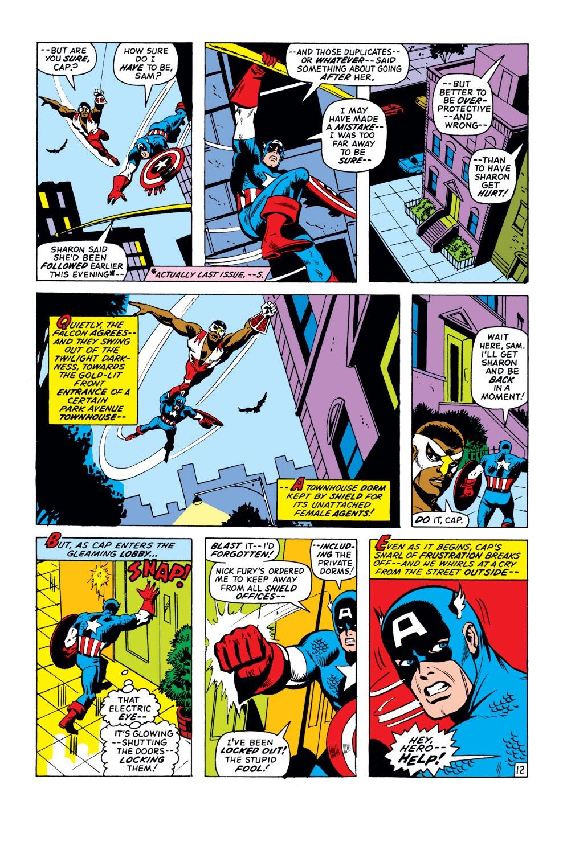 Captain America (1968) Issue #151 #65 - English 13
