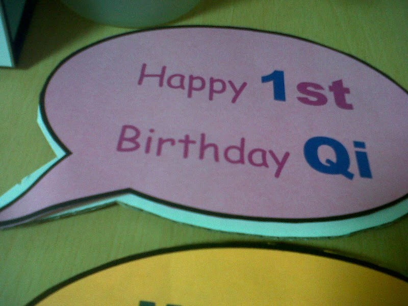 Photo Corner: Birthday Qi Shout Out!!!