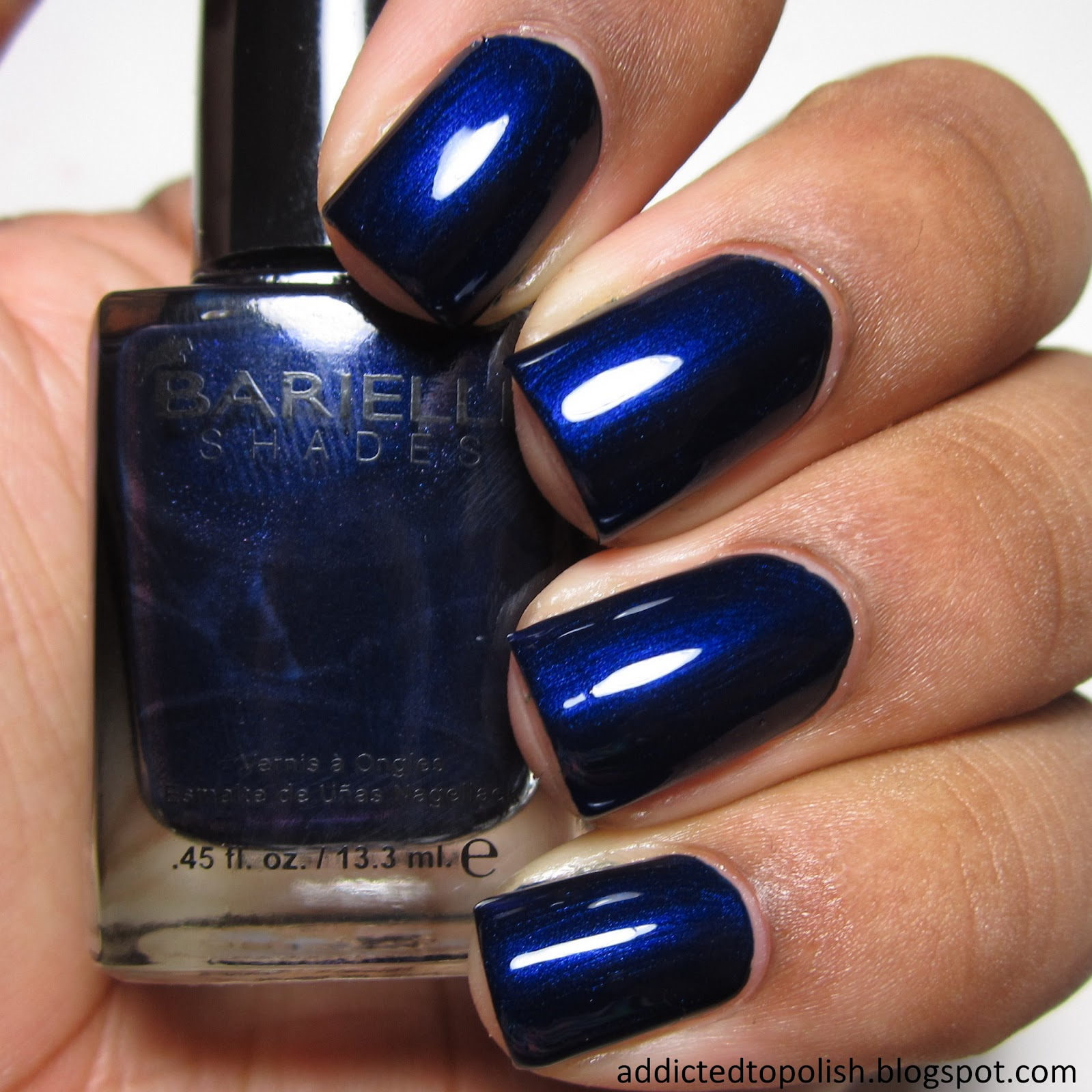 Barielle Midnight in Paris Jetsetter Fall Winter 2014