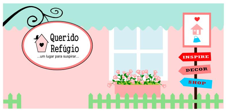 Querido Refúgio, Blog de decoração e organização com loja virtual