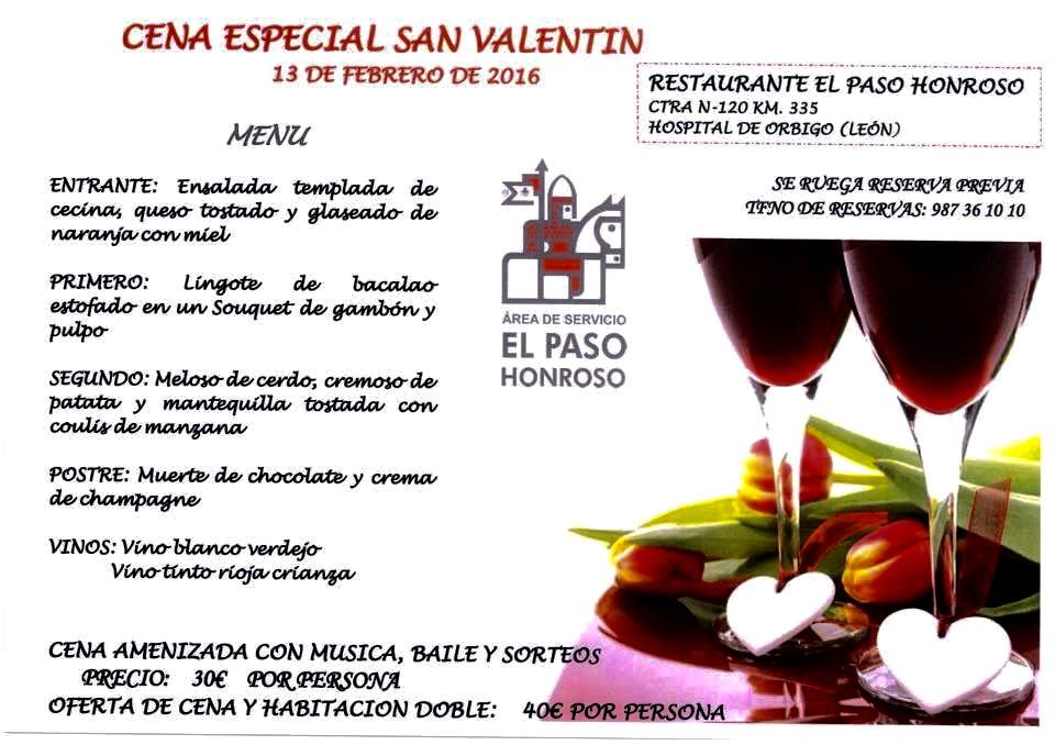 Un San Valentín inolvidable en El Paso Honroso, Hospital de Órbigo (León)...
