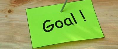 set a blogging goal to success