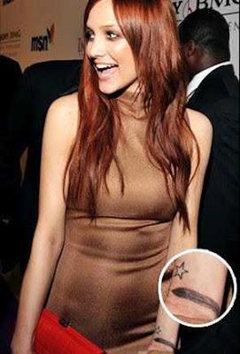 celebrity wrist tattoo