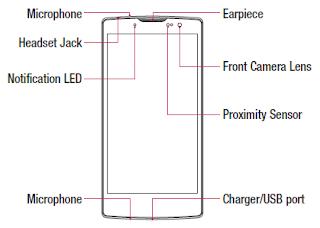 LG G4c H525N Layout
