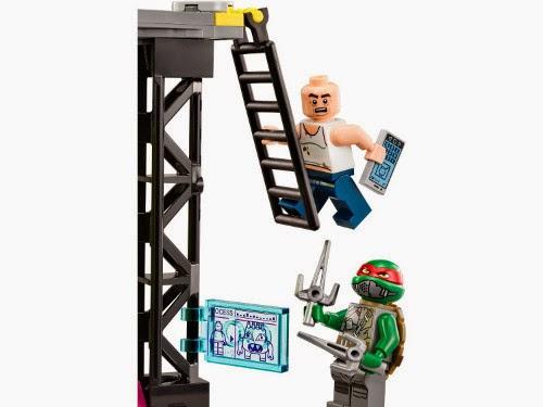 TOYS - LEGO Tortugas Ninja -  79119 Cámara de mutación fuera de control  Juguete Oficial | Mutation Chamber Unleashed | Ninja Turtles  A partir de 6 años