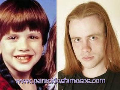 Michael Oliver antes y después