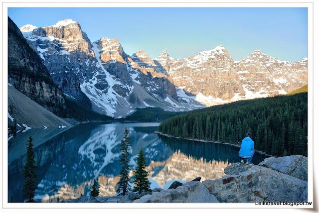 Moraine Lake 夢蓮湖 Amazing View  加拿大