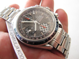 OMEGA SPEEDMASTER CHRONOGRAPH RACING MICHAEL SCHUMACHER CARBON DIAL - AUTOMATIC