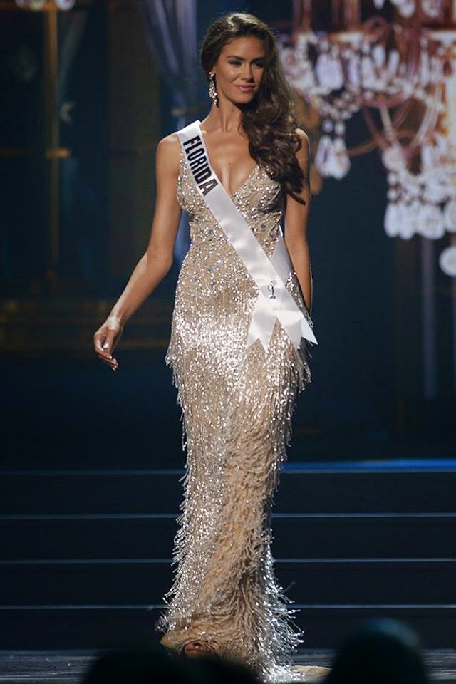 SASHES AND TIARAS.....Miss USA 2014 Preliminaries Evening Gowns ...