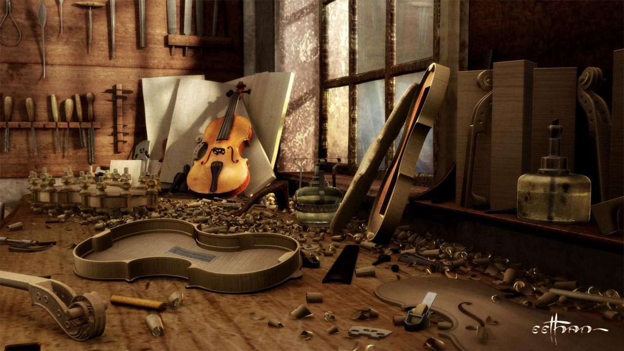 El entorno de trabajo del luthier for Que es un luthier