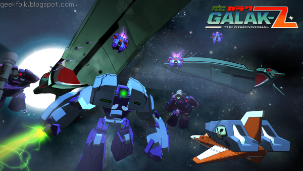 The Making Of... Galak-Z: The Dimensional
