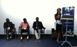 Panelists at the event ( Demola, Osagie, Ameyaw and Princess)