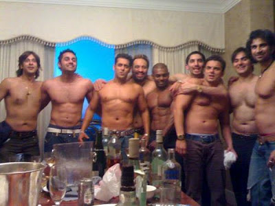 Interior Design Photos on Top Less Salman Khan And Sohail Khan With Their Friends In Private
