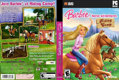 Barbie Horse Adventures Riding Camp PC DVD Capa