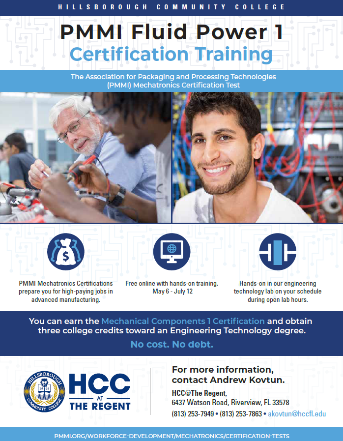 PMMI Fluid Power 1 Certification Training