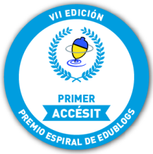GANAMOS EL PREMIO PRIMER ACCÉSIT EN ESPIRAL EDUBLOGS 2013