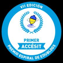 GANAMOS EL PREMIO PRIMER ACCÉSIT EN ESPIRAL EDUBLOGS 2013