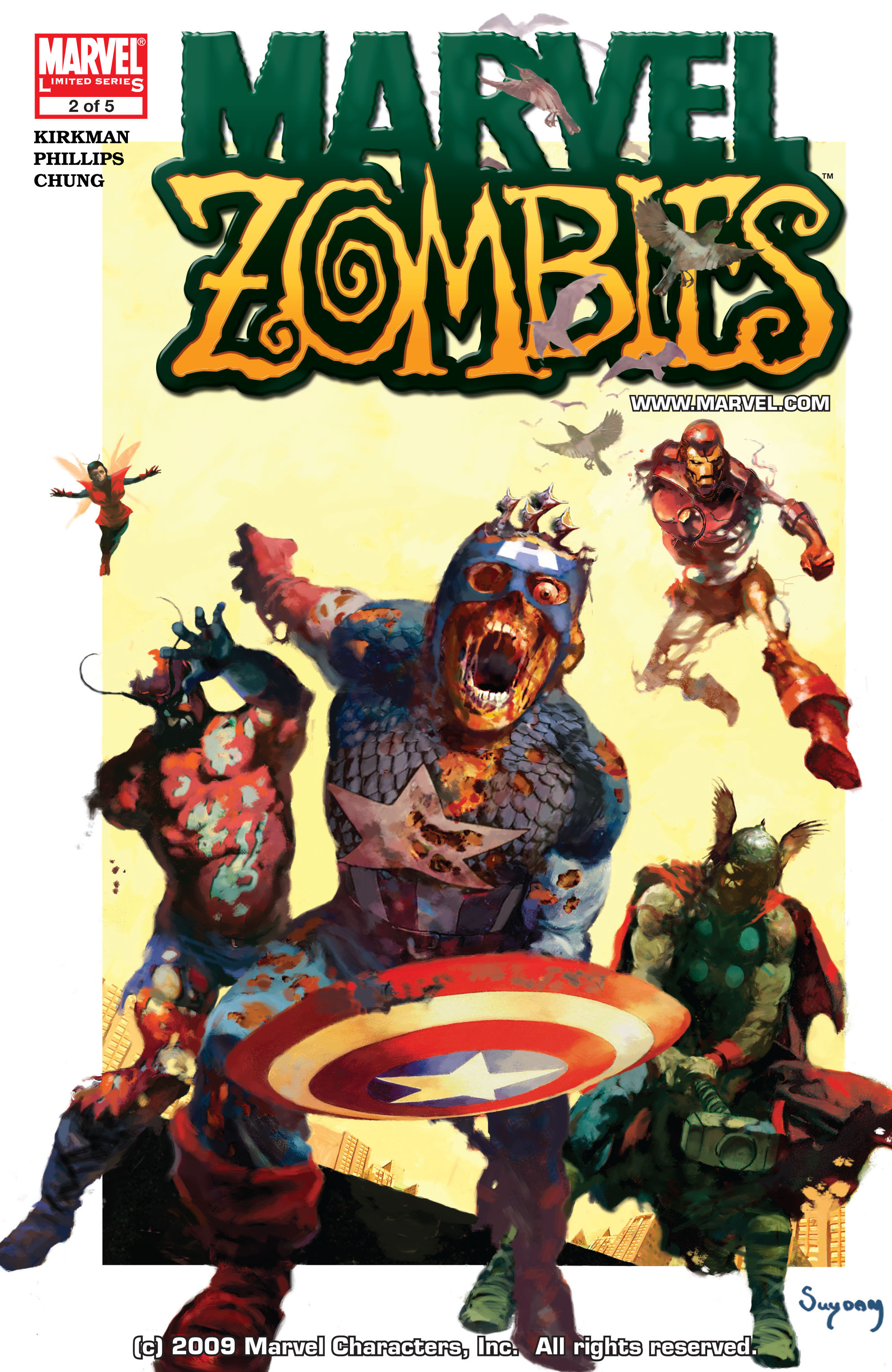 Marvel Zombies (2006) Issue #2 #2 - English 1