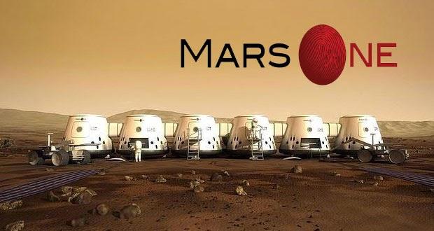 Diseño conceptual de futuras colonias en Marte.