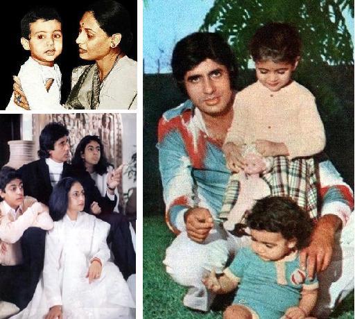 Abhishek Bachchan Childhood Hollywood Bollywood Celebrity