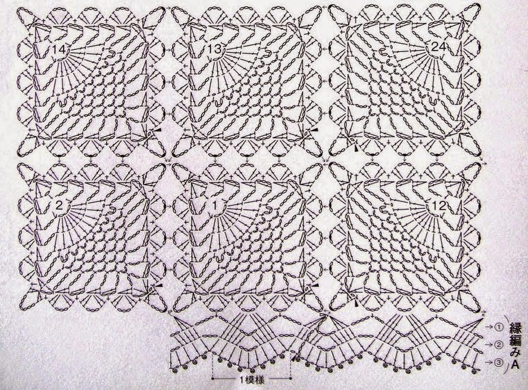 Скатерти квадратные крючком схемы бесплатно