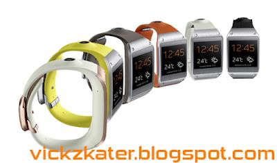 Samsung Galaxy Gear - Perangkat Jam Tangan Pintar (SmartWatch)