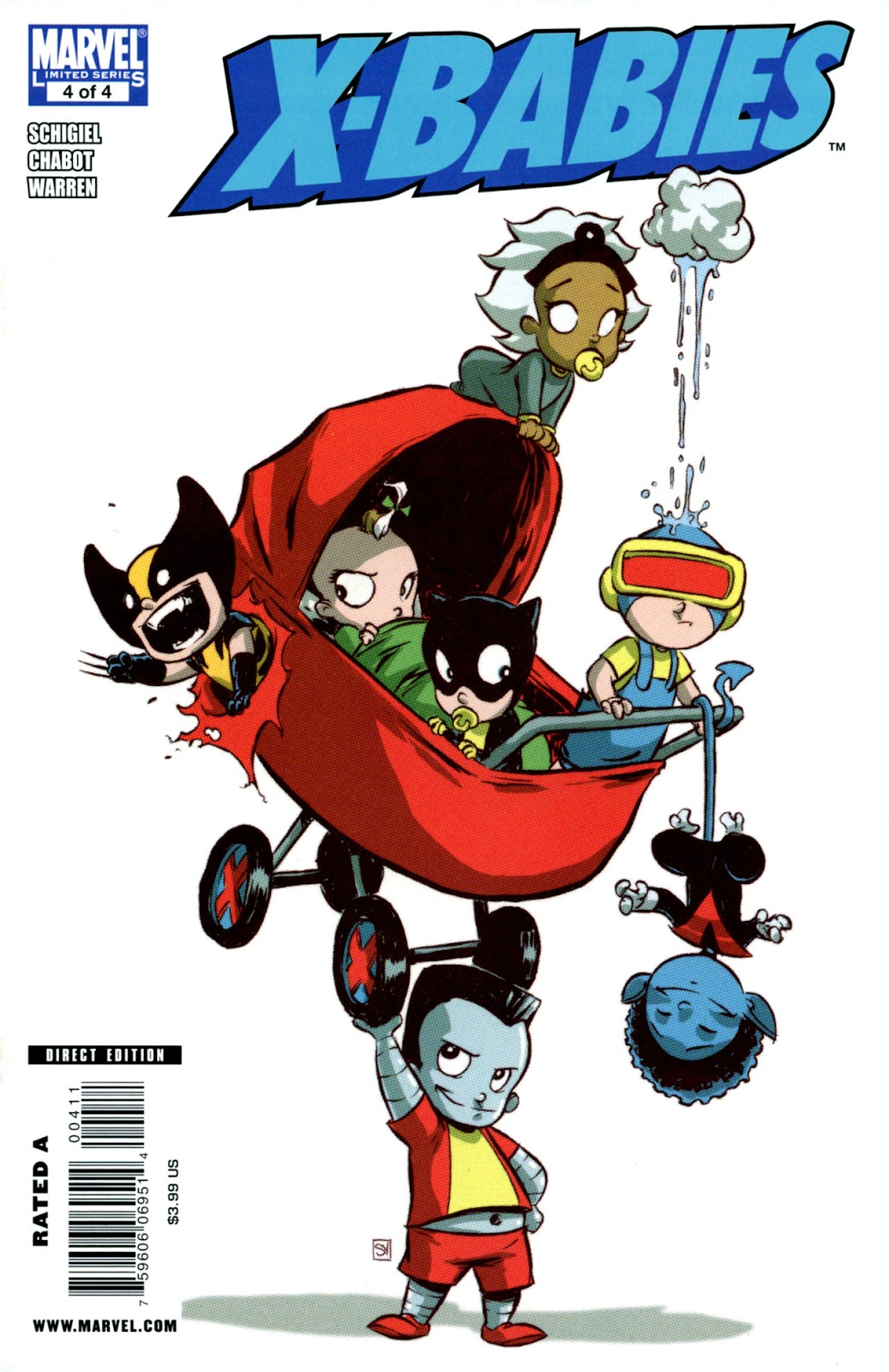 Read online X-Babies comic -  Issue #4 - 1