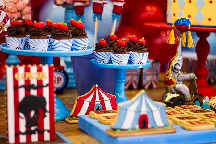 My own party ideas ideas para fiestas infantiles el circo - Ideas fiestas tematicas ...