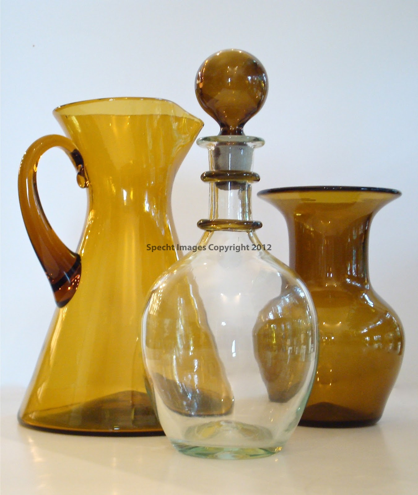 Heart of Gl - Blenko Gl: Pre-designer amber decanter, vase and ... on blenko bubble vase, blenko small vase, blenko handmade vase, blenko hourglass vase, blenko amber vase, blenko blue vase, blenko ruffled vase, blenko clear vase, blenko green vase, blenko 1957 19 1 2 vase, blenko amethyst vase, blenko tangerine vase,
