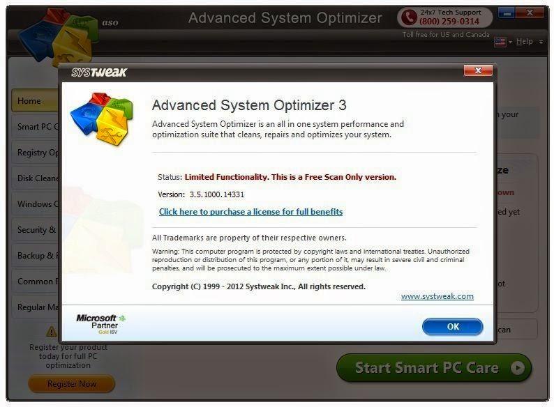System Optimizer Advanced