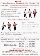 PROJETO PERCUSSÃO GONZAGUIANDO - PIZA NA FULÔ