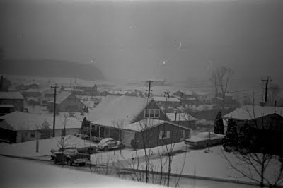 Snow,Snowstorm,Bowie,Maryland,1974