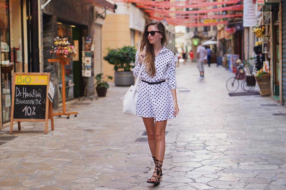 Hello Summer: Mallorca | Sukienka w kropki