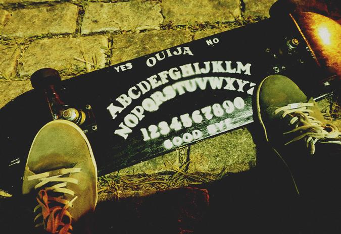 Skate Ouija board