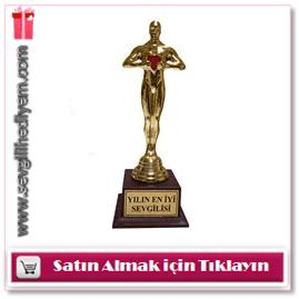 Kişiye Özel Kalpli Sevgili Oscarı