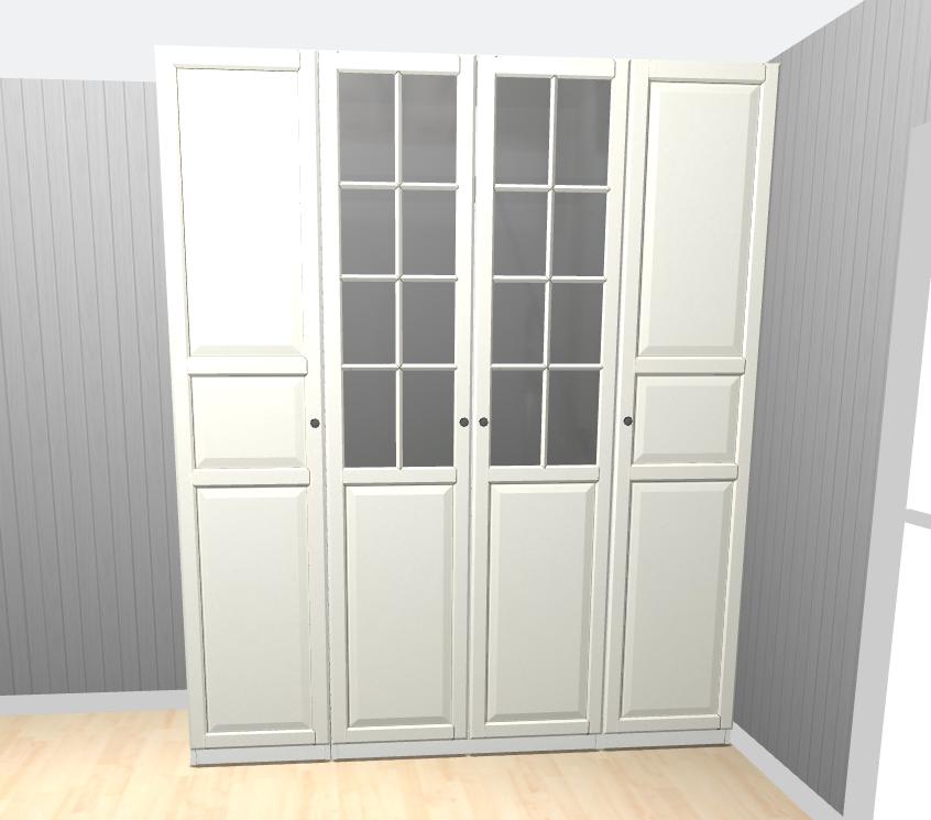 Pax garderobe d rer materialvalg for baderomsm bler for Garderobe 60 cm