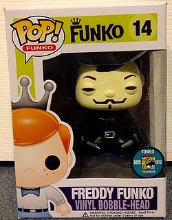 Freddy Funko V of Vendetta