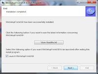proses instal aplikasi win setup from usb