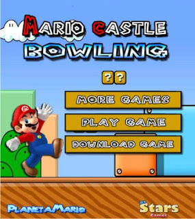 Game Online Mario Castle Bowling