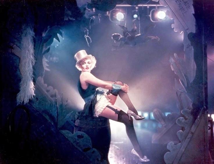 Marilyn Monroe caracterizada de Marlene