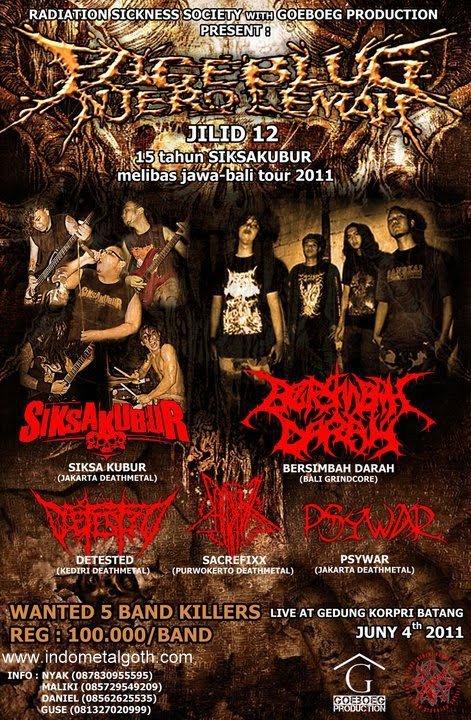 festival metal PAGEBLUG NJERO LEMAH JILID 12