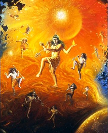 Lord Shiva Angry Eyes