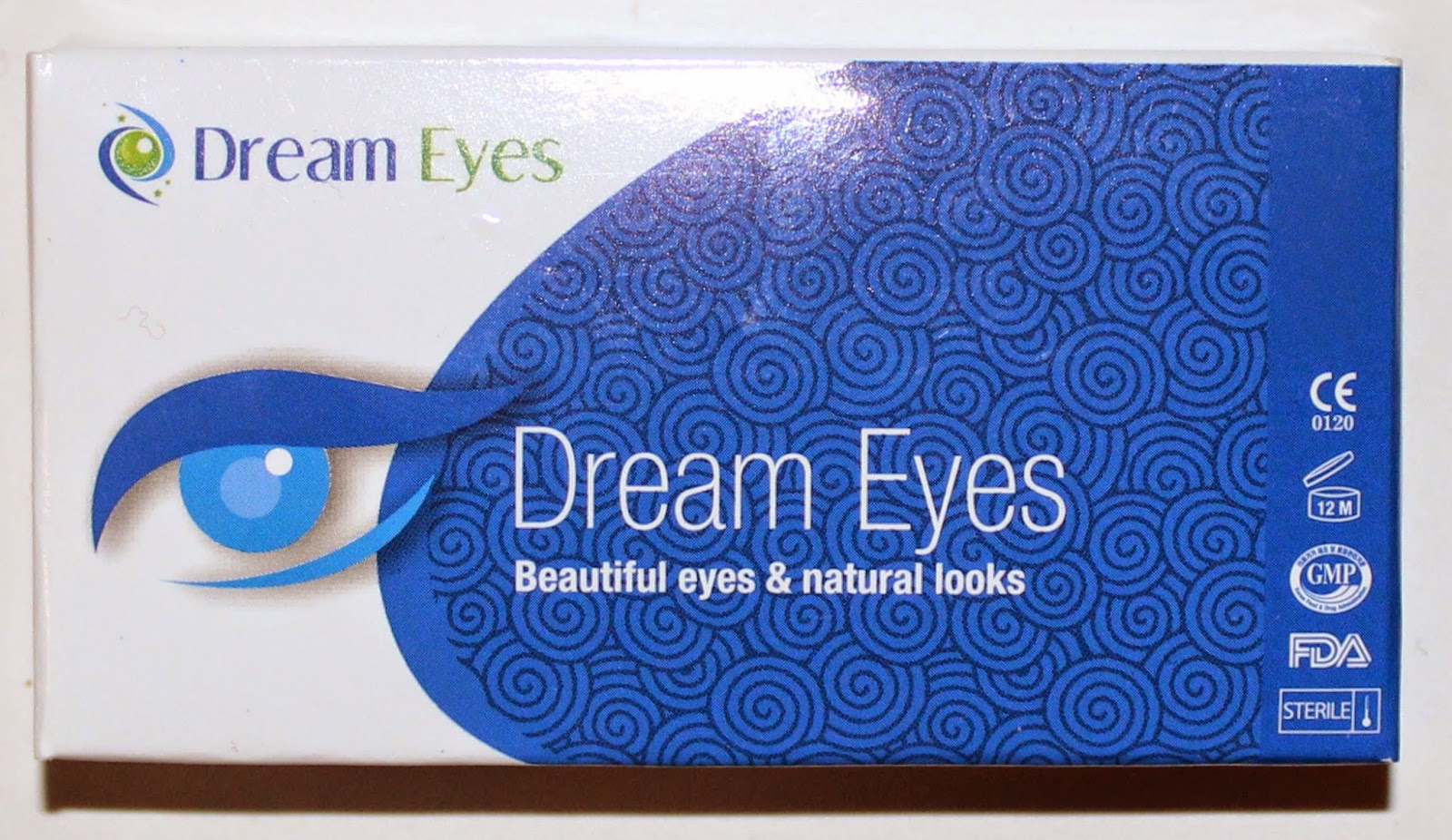 Dream Eyes Leopard Blue Contact Lenses