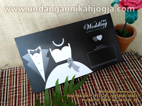 sketsa undangan pernikahan