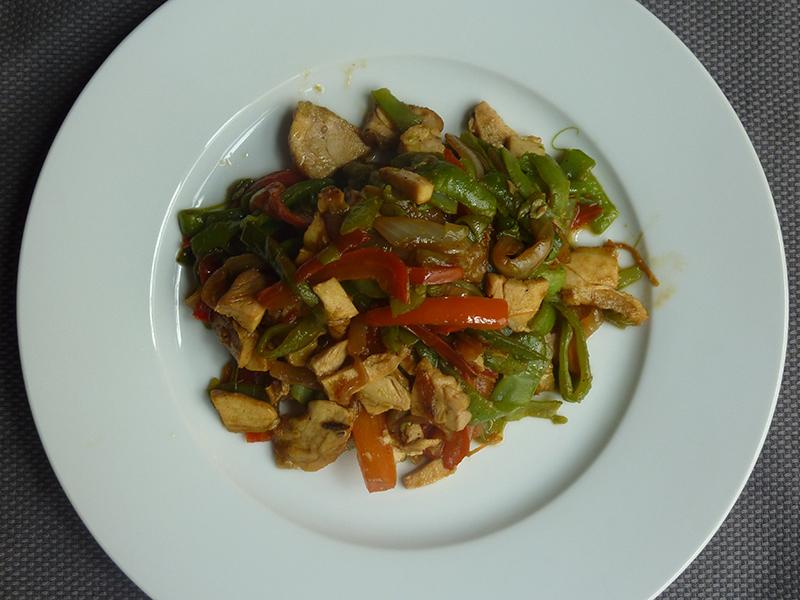 Refogado de verduras para o Verão