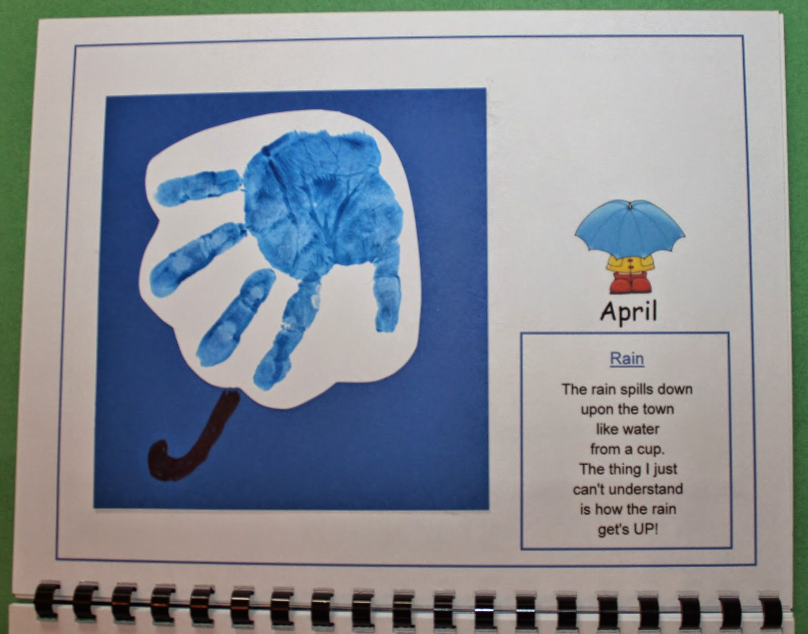 have added a 2016 handprint calendar to 1 – 2 – 3 Learn ...