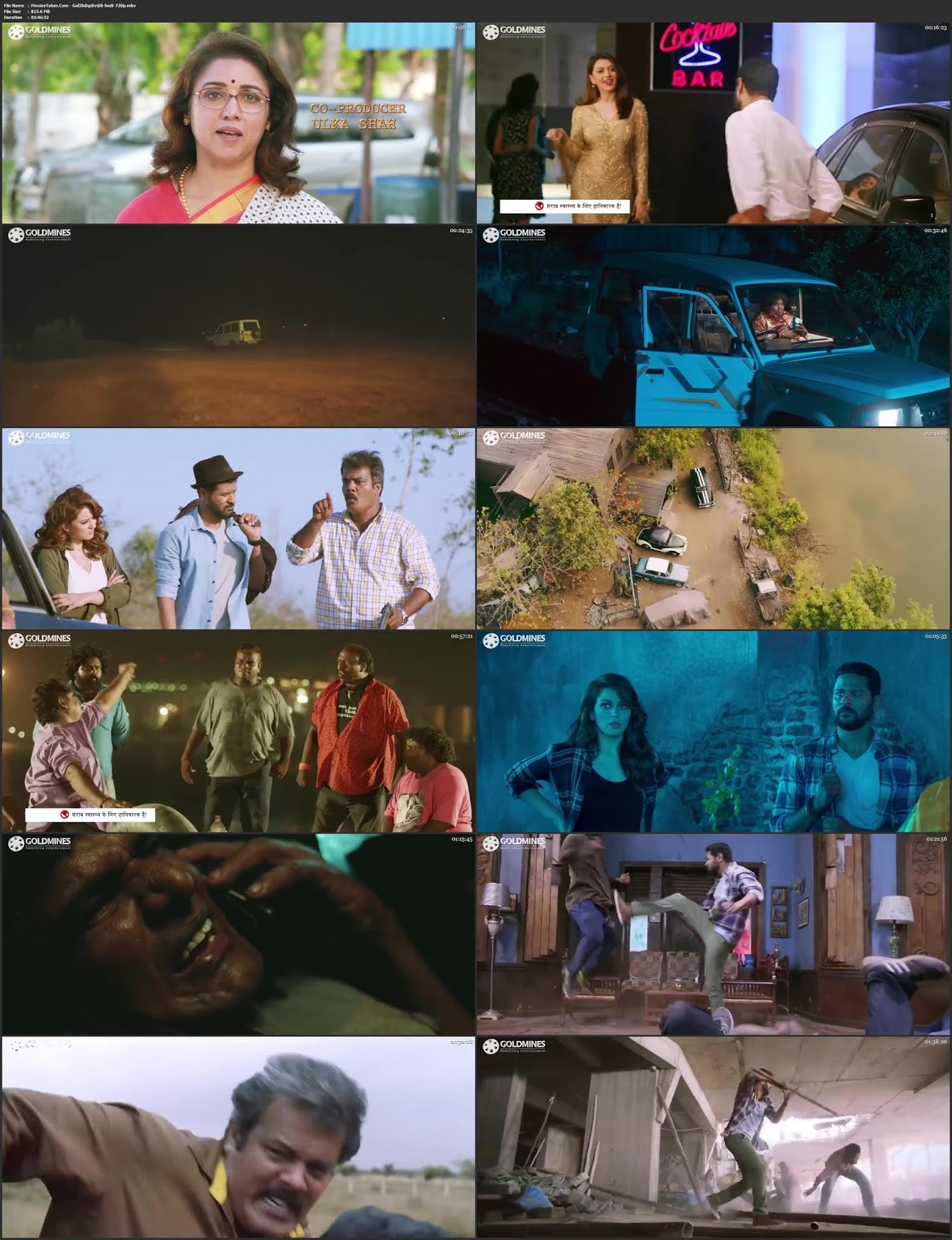 Gulebagavali 2018 ORG Hindi Dubbed Movie HDRip 720p