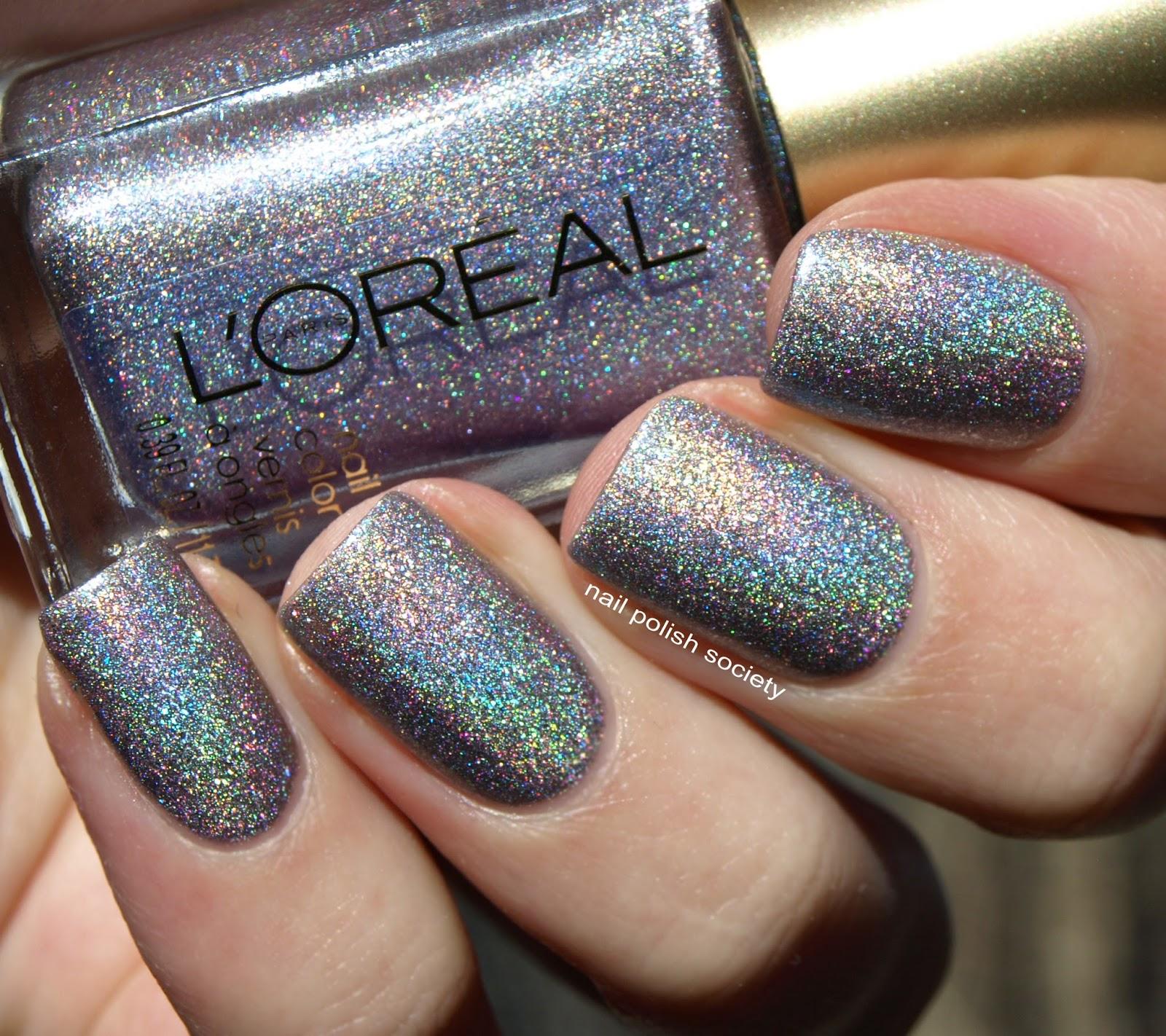 Loreal Nail Polish Swatches: Nail Polish Society: L'Oréal Masked Affair Swatches And Review